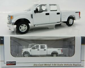 164 speccast white 2018 ford f350 crew cab super duty pickup image is loading 1 64 speccast white 2018 ford f350 crew publicscrutiny Image collections