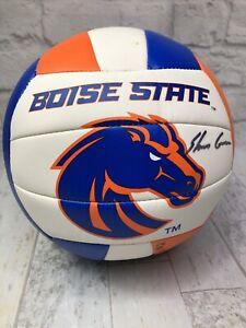 Boise State Volley-ball Molten Ball signé par 5 joueurs 2014-2015 équipe et Coach