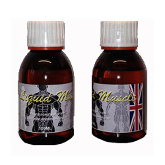 2 x 100ml Liquid Muscle Synthol Posing Oil