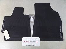 Toyota Highlander 08-11 Front Factory All Weather Rubber Floor Mats Genuine OEM