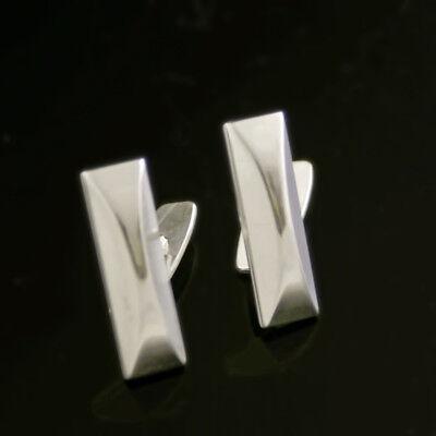Danish Silver Cufflinks -Bernhard Hertz- VINTAGE