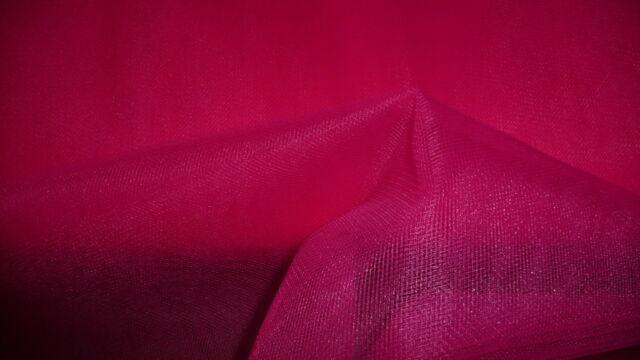 Cherry Veiling Soft Tulle Wedding/Bridal Dress Fabric 280cm Wide @ £1.99 per mtr