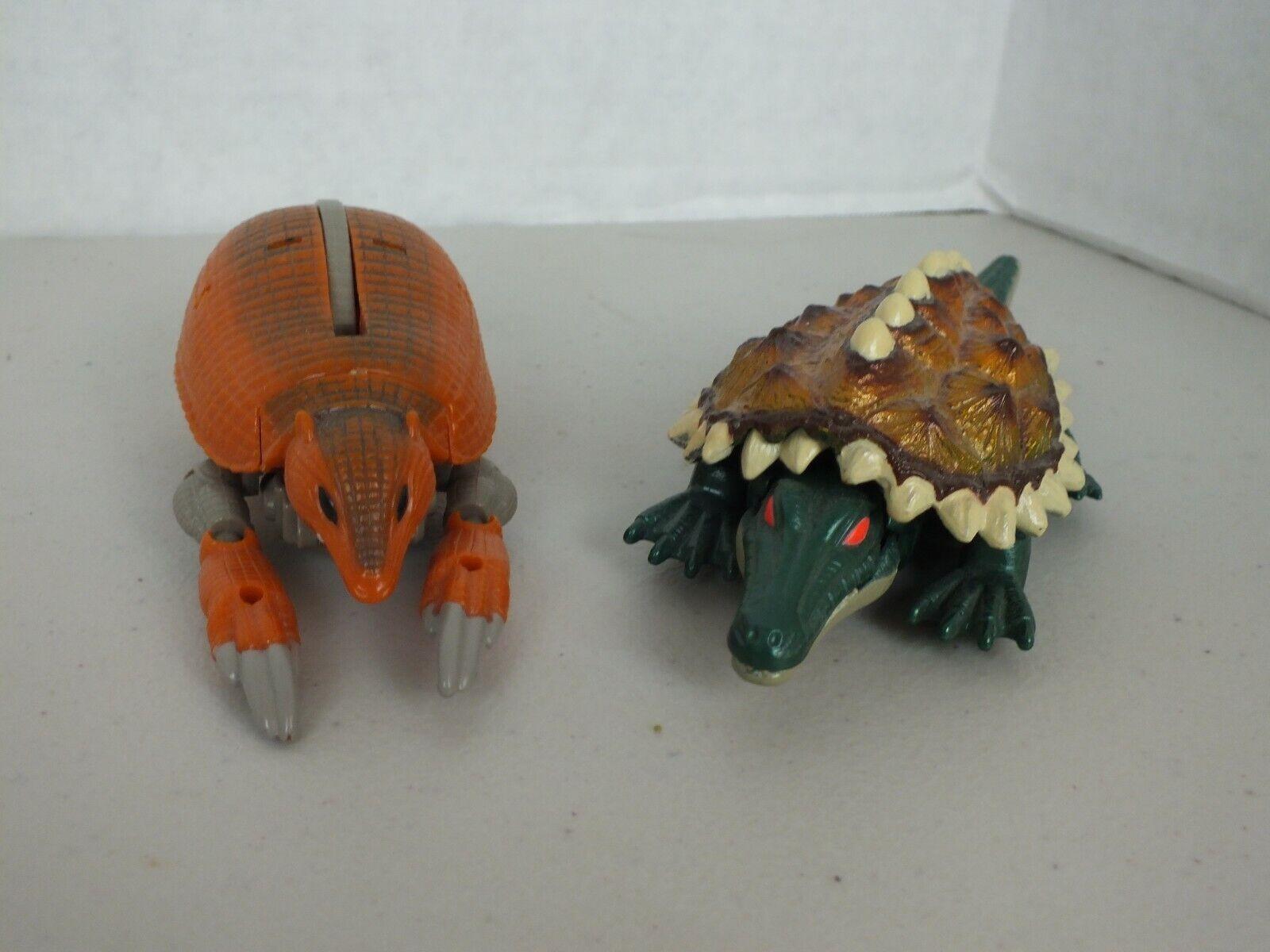 Transformers Beast Wars Fuzors Terragator & Armordillo Lot
