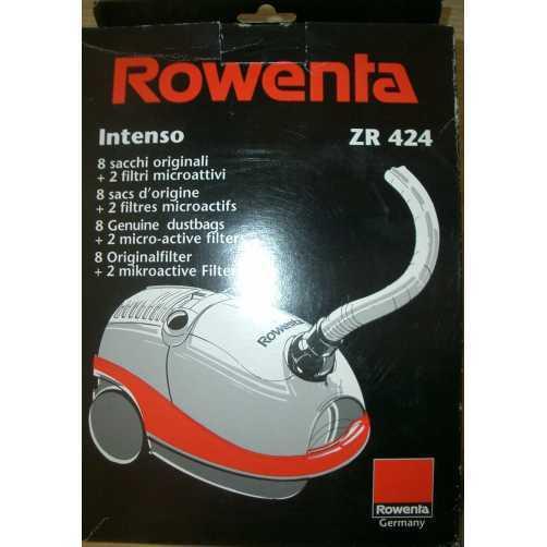 ZR-424 Rowenta - SACCHI PER ASPIRAPOLVERE INTENSO