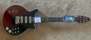 Brian May Queen Signed Autographed Signature Model Guitar Beckett Certified