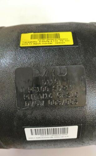 d110 DAKU PE 100 Elektro Schweißmuffe  Schweißfitting Muffe