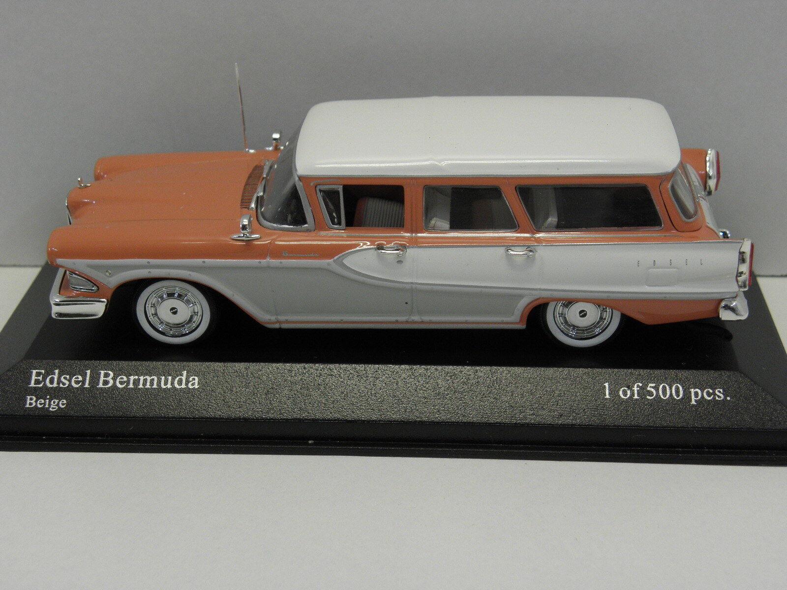 MINICHAMPS 400082012 sammelmodell Edsel Edsel Edsel Bermuda Stationwagon 1958 M .1  43 06b43a