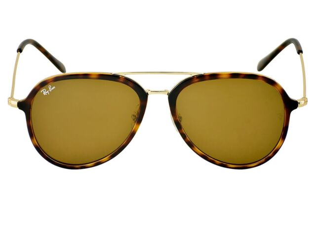 58e6ec3e70 Ray-Ban RB4298 710 51 Tortoise Gold Frame Light Brown Gradient Lenses Unisex
