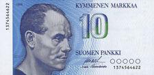 Finnland/ Finland 10 Markka 1986 Pick 113 (1)