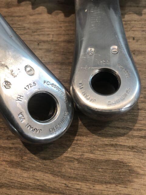 Shimano Ultegra Fc-6500 Crankset 53x39 175mm for sale online