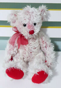 Russ-Berrie-Cagney-Teddy-Bear-Plush-Toy-Children-039-s-Soft-Toy-27cm-Tall