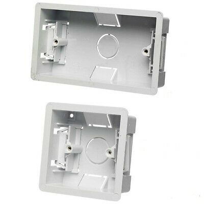 2 GANG DRY LINING BOX FLUSH WALL DOUBLE BACK BOX ELECTRIC SOCKET SWITCH B26