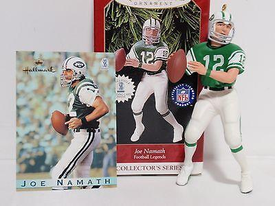 Hallmark /'Joe Namath/' 3rd In Football Legends Series Dated 1997 Ornament NEW