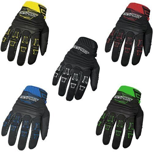 Jet Pilot 2017 Matrix Race Full Finger Gloves Rubberized Pro-Grip Yamaha Jetski