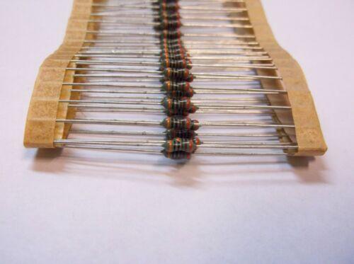 Phillips MRS25   3000 ohm  1//4 watt 1/% Metal Film Resistors 100pcs