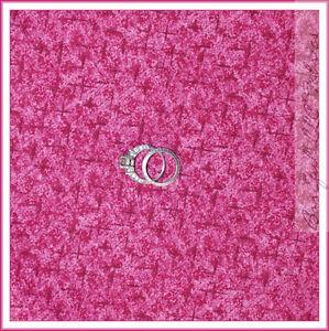 BonEful-Fabric-FQ-Cotton-Quilt-Calico-Sm-Hot-Pink-Fuchsia-Bright-Texture-Pattern
