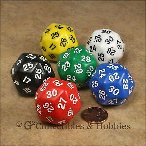 virtual 30 sided dice