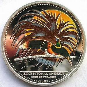Image Is Loading 2009 Bird Of Paradise 5 Dollars Colour Palau