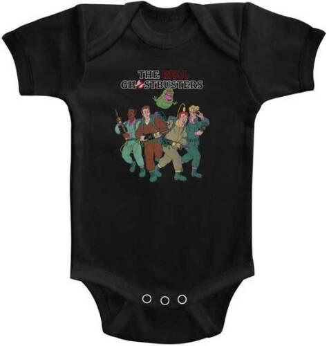 El verdadero fantasma dos horas toda la tripulación bebé mameluco onezies 6-24 mes