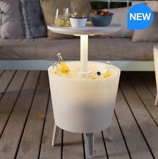 Item 5 Keter 30 Litre Illuminated Outside Cool Bar Patio Drinks Cooler Party Table