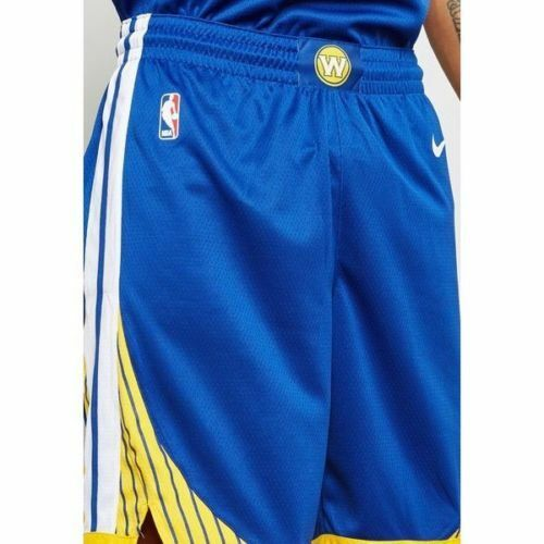 new product 50ec0 34414 Nike NBA Golden State Warriors Icon Edition Swingman Shorts 866809 Large L  48