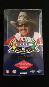 1998-Upper-Deck-Maxx-Race-10th-Anniversary-Nascar-Box-24-Packs-Factory-Sealed
