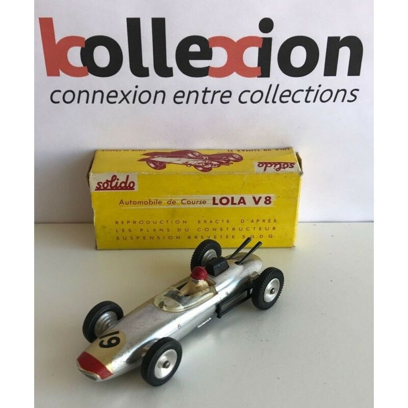 LOLA Climax V8 F1 Chrome no.19