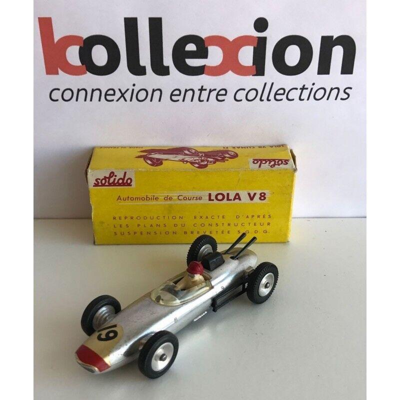LOLA Climax V8 F1 Chrome n°19