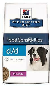 Hill's Prescription Diet Canine d d Secco con Anatra e Riso