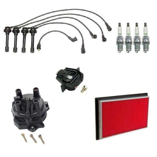 Fits 94-99 Nissan Sentra 1.6L Tune Up Kit Air Filter Cap Rotor Plug TK2049-08