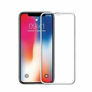 100-Genuine-Tempered-Glass-Film-Screen-Protector-5D-For-Apple-iPhone-X-XS-White