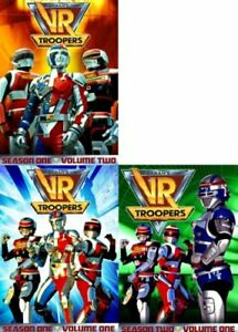 VR-TROOPERS-COMPLETE-SEASON-1-SEASON-2-VOLUME-1-New-DVD-72-Episodes