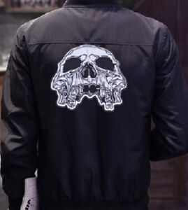 Toppa Backpatch Teschio Death Head Mietitore Mc Gilet Da Biker