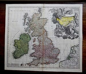 image is loading c1720 homann great britain england scotland ireland wales