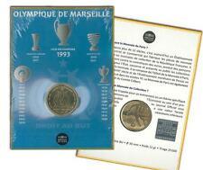 FRANCIA: 1 1/2 euro BU 2011 OLYMPIQUE DE MARSEILLE Club Futbol