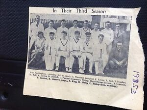 m11e ephemera 1953 picture west Nottingham cricket team warrener gannon - <span itemprop=availableAtOrFrom>Leicester, United Kingdom</span> - Returns accepted Most purchases from business sellers are protected by the Consumer Contract Regulations 2013 which give you the right to cancel the purchase within 14 days after the da - Leicester, United Kingdom
