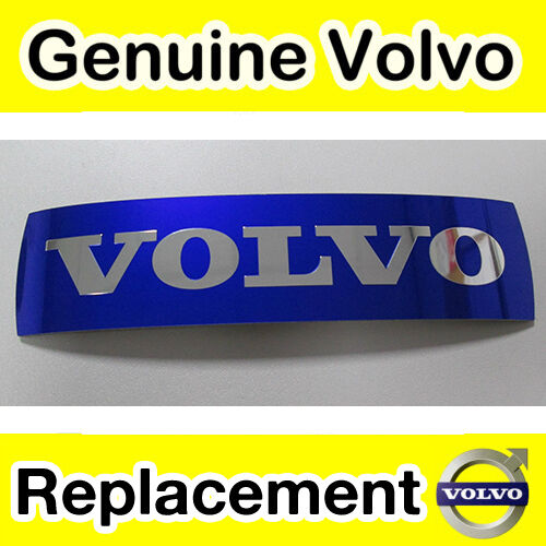 Genuine Volvo S40 V50 C30 Adhesive Grille Badge Emblem 2009-2012 C70 II