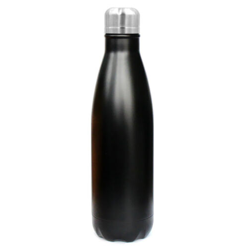 Double Wall Vacuum Insulation Stainless Steel Water Bottle Travel Cup 17 oz
