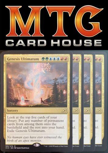 Ikoria Pack Fresh MTG 4x Genesis Ultimatum