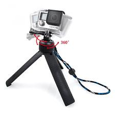 TriPod Mount & Monopod Selfie Stick Handle Grip 360 For GoPro HERO4 HERO5 4/3+/3