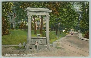Wells Fountain, Brattleboro, Vermont - Lost New England