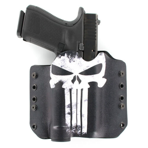 Hanguns with STREAMLIGHT TLR-1 OWB Kydex Holster for 50 PUNISHER LONG NECK