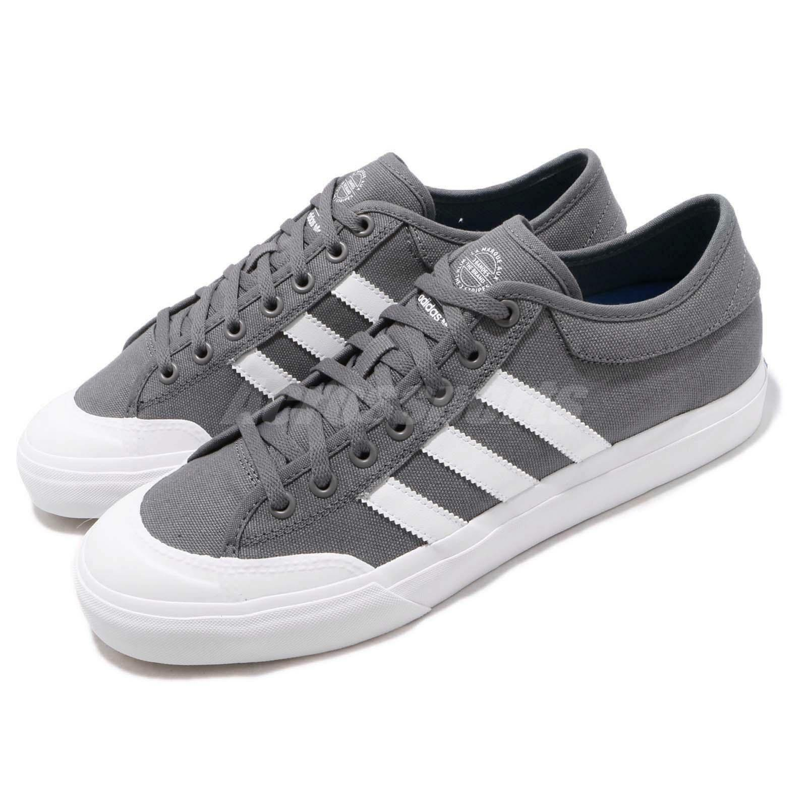Adidas Originals Matchcourt Grey White bluee Men Casual shoes Sneakers CQ1113