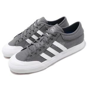 on sale 82810 5ac01 Image is loading adidas-Originals-Matchcourt-Grey-White-Blue-Men-Casual-