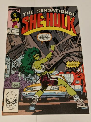 The Sensational She-Hulk #7 November 1989 Marvel Comics