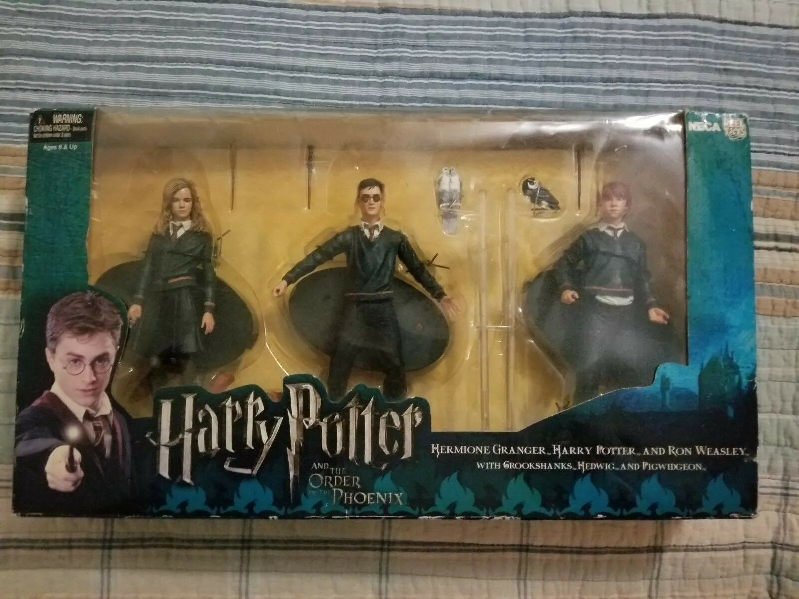 Neca Harry Potter Figure Set Order Of The Phoenix Hermione Granger Ron Weasley