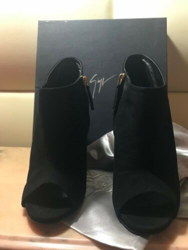 42 Price Eu Boots Retail Black In Box Giuseppe New Suede Zanotti Design xn4z7g84wq