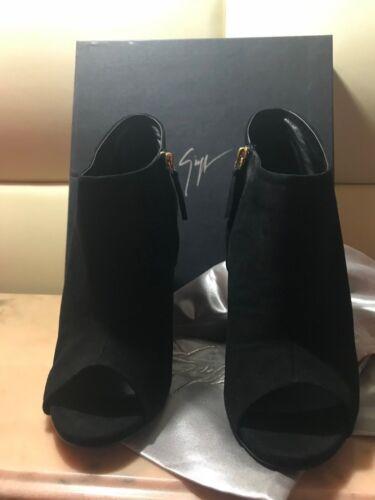 New in box GIUSEPPE ZANOTTI DESIGN Black Suede Boots EU 42 retail price €595