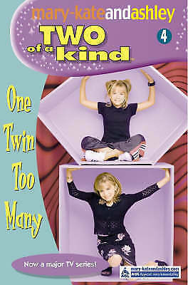 """""""AS NEW"""" Olsen, Ashley, Olsen, Mary-Kate, One Twin Too Many (Two Of A Kind, Book"""