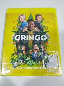 Gringo Charlize Theron - Blu-Ray Español Ingles Nuevo - 3T